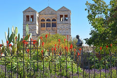 Church of the Transfiguration, Mount Tabor, Lower Galilee, Israel Stock Images