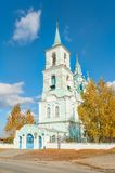 Church of the Transfiguration.N.Sinyachikha.Russia Stock Photo