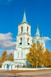 Church of the Transfiguration.N.Sinyachikha.Russia Stock Image