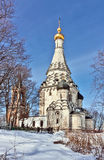 Church of the Transfiguration in Ostrov village,Moscow region, R Stock Images