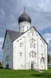 Church of the Transfiguration of Our Savior, Veliky Novgorod Royalty Free Stock Image
