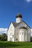 Church of the Transfiguration of Our Savior, Veliky Novgorod Stock Photo