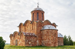 Church of the Transfiguration of Our Savior, Veliky Novgorod Royalty Free Stock Photography