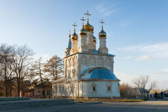 Church of The Transfiguration of Our Saviour On Yar. Ryazan, Russia Stock Images