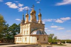 Church of the Transfiguration. Ryazan city, Russia Royalty Free Stock Photography