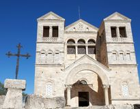 Church of Transfiguration. On the top of mount Tabor, Israel Royalty Free Stock Image