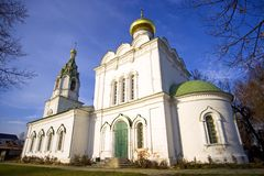 Church of the Transfiguration in the Village Bagerovo Stock Photography