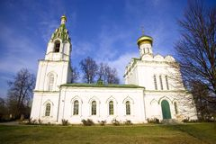 Church of the Transfiguration in the Village Bagerovo Royalty Free Stock Image