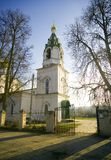 Church of the Transfiguration in the Village Bagerovo Royalty Free Stock Photography