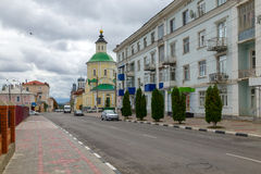 Church of the Transfiguration (Preobrazhenskaya). Intersection o Stock Images