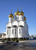 Church of the Transfiguration in Zhukovsky Stock Image