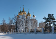 Church of the Transfiguration in Zhukovsky Royalty Free Stock Photo