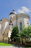 Church. Trasfiguration Church on the north of the Rynok Square, Lviv, Western Ukraine Stock Images