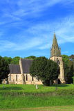 Church and trees Royalty Free Stock Images