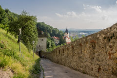Church Trencin Castle Royalty Free Stock Photo