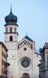 Church in Trento, Trentino Alto-Adige (Italy). View of a church in Trento (Italy Royalty Free Stock Photo