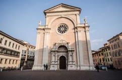 Church in Trento, Trentino Alto-Adige (Italy). View of a church in Trento (italy Stock Photography