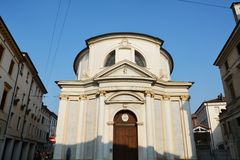 Church and Treviso, Europe Royalty Free Stock Photos