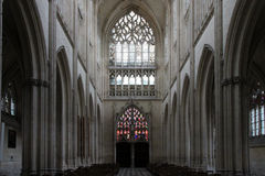 Church of the Trinity abbey - Vendôme - France Stock Images