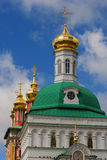 Church in the Trinity Sergius Lavra in Sergiev Posad Royalty Free Stock Photo