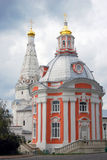 Church in Trinity Sergius Lavra Stock Image