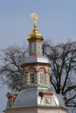 Church of the Trinity Sergius Lavra. Sergiyev Posad, Russia. Popular landmark. UNESCO World Heritage Site stock images