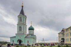 Church of the Trinity (Trinity Skete village, Nizhny Novgorod region) Stock Images