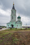 Church of the Trinity (Trinity Skete village, Nizhny Novgorod region) Royalty Free Stock Photo
