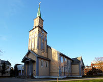 Church in Tromso Royalty Free Stock Image