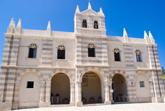 A church in Tropea, Italy Stock Images