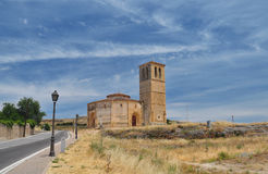 Church of the true cross. Segovia, Spain Stock Photo