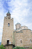 The church of Tsarevets castle stronghold in Veliko Tarnovo, Bulgaria. Royalty Free Stock Photo