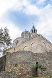 The church of Tsarevets castle stronghold in Veliko Tarnovo, Bulgaria. Royalty Free Stock Photos