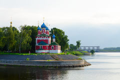 Church of Tsarevich Dmitry on Blood, Uglich, Russia Stock Photo