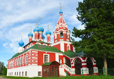 Church of Tsarevich Dmitry on the Blood in Uglich Royalty Free Stock Photo