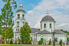 Church in Tsaritsino Park, Moscow Stock Images