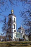 Church in Tsaritsyno, Moscow Stock Image