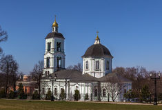 Church in Tsaritsyno, Moscow Royalty Free Stock Photos