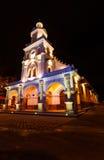 Church of Turi, Ecuador. A nighttime photo of the Church of Turi located in Turi, Ecuador, just south of Cuenca Royalty Free Stock Photography