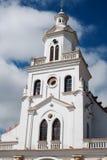 Church of Turi on Turi hill in Cuenca Stock Photos