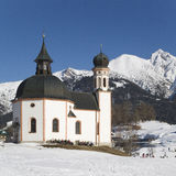 Church in Tyrol Royalty Free Stock Photo