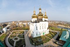 Church in Tyumen Stock Photo