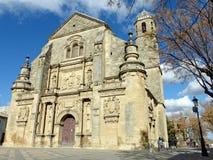 CHURCH IN UBEDA Stock Image