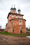 Church in Uglich, Russia royalty free stock photos