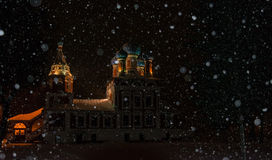 The Church in Uglich of Russia Stock Images