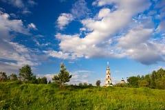Church under blue sky Stock Photos