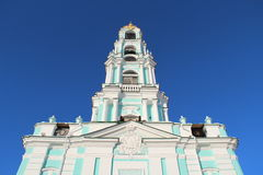 Church under the blue sky Royalty Free Stock Photos