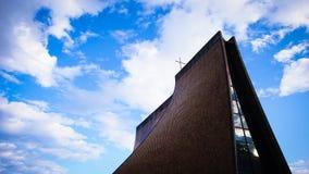 Church under Clear Blue Sky Royalty Free Stock Photos