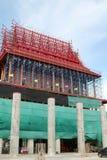 The church is under construction. Wat Krok Krak, Samutsakorn, Thailand Royalty Free Stock Image