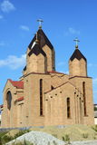 The Church is under construction in Novorossiysk. Stock Photo